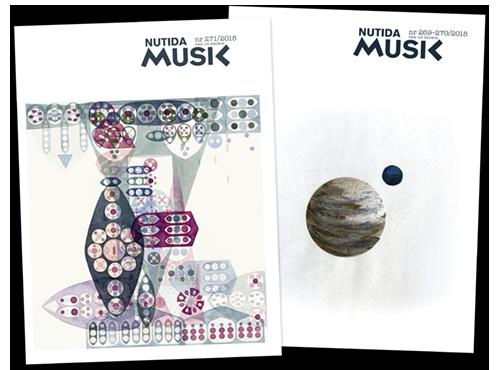 Två aktuella nummer av Nutida Musik.